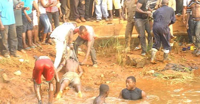 Three boys died at the Sofoline construction site in Kumasi