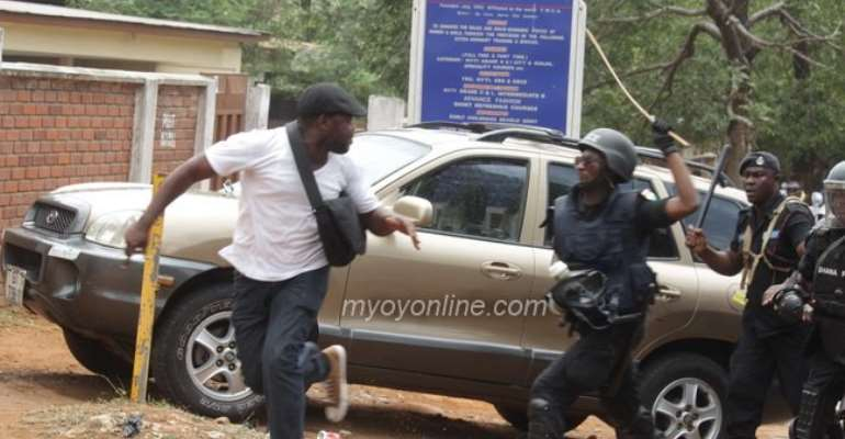 Assault By The Police Was Irresponsible And Shameful- Stunnad
