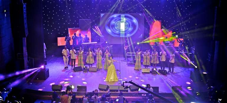 Audiences Wowed At The Experience With Diana Hamilton In Ghana