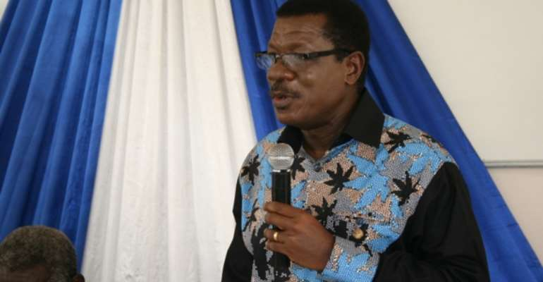 Mensa Otabil's ICGC Dares NDC: 'We Will Not Release Original Otabil Tape!'
