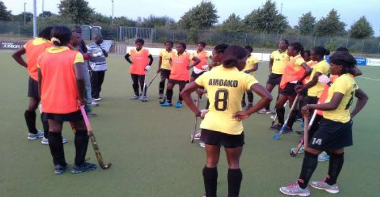 Africa Hockey Cup : Ghana men's team lose; Women draw with South Africa