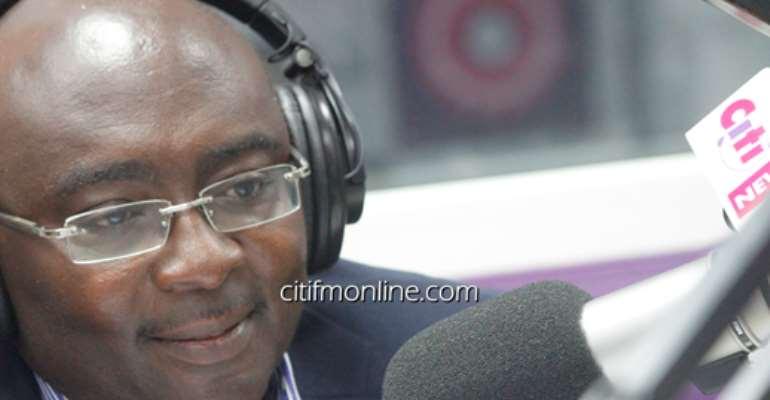 Citi FM's Bernard Avle interviews Dr. Bawumia [Full audio]