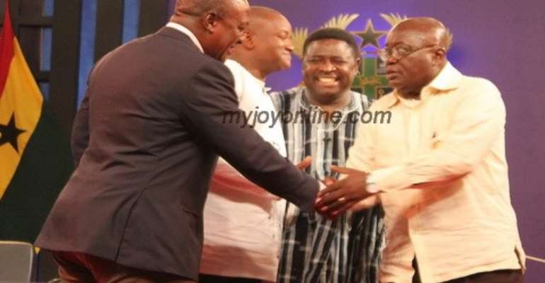 Nana Addo congratulates Mahama after petition dismissal