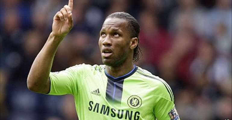 Drogba was a key factor in Chelsea's win at the Hawthorns