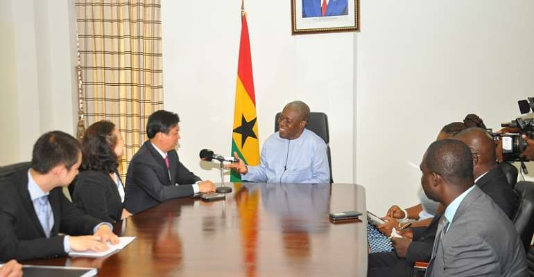 Veep Calls On Chinese Private Sector To Invest In Ghana