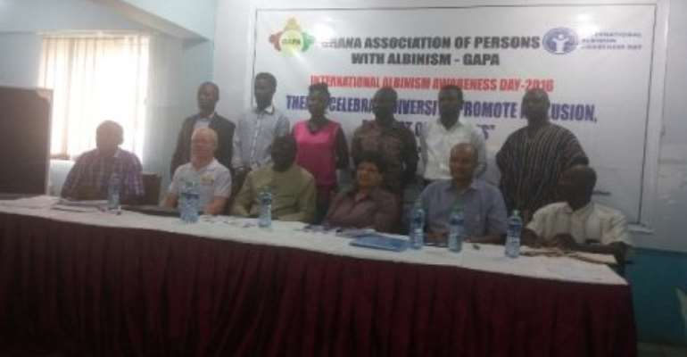 Ambassadors inaugurated to advocate for persons with albinism