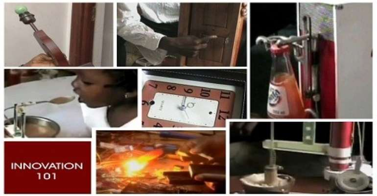 Asidu's fufu pounding invention