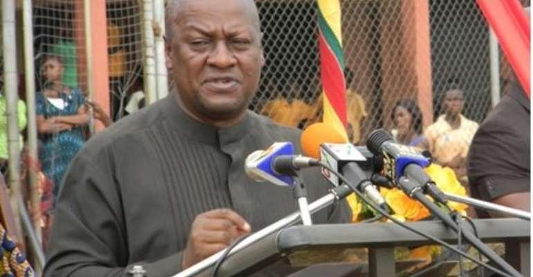 President Mahama: I Won't  Take Volta Region For Granted