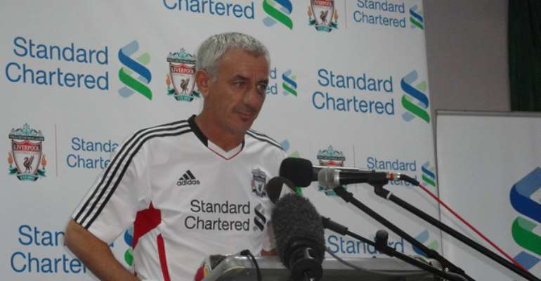 1st Stanchart-Liverpool Soccer Clinic Launched in Ghana
