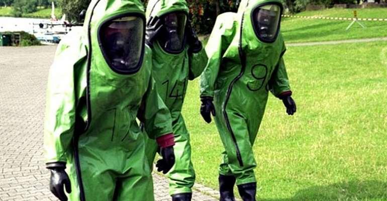 ebola plaque