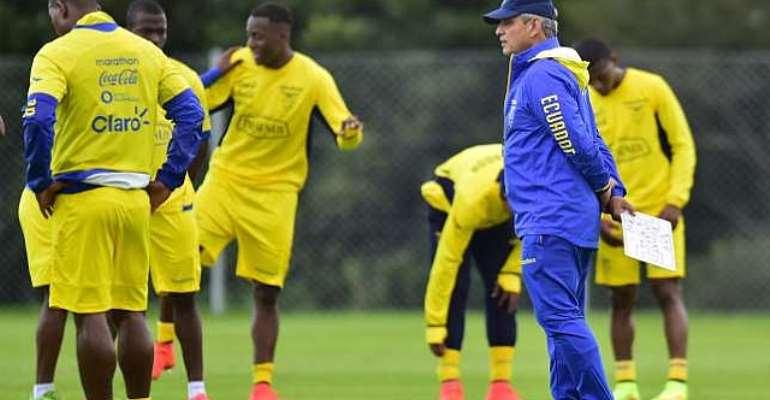 Ecuador cancel friendly with Internacional