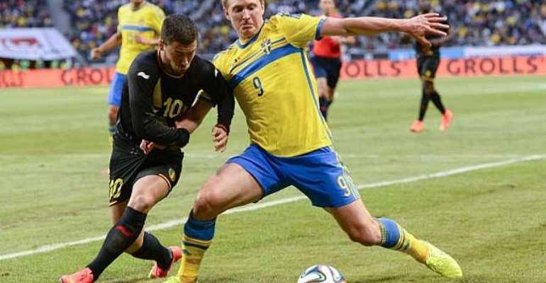 International Friendly: Sweden 0 Belgium 2