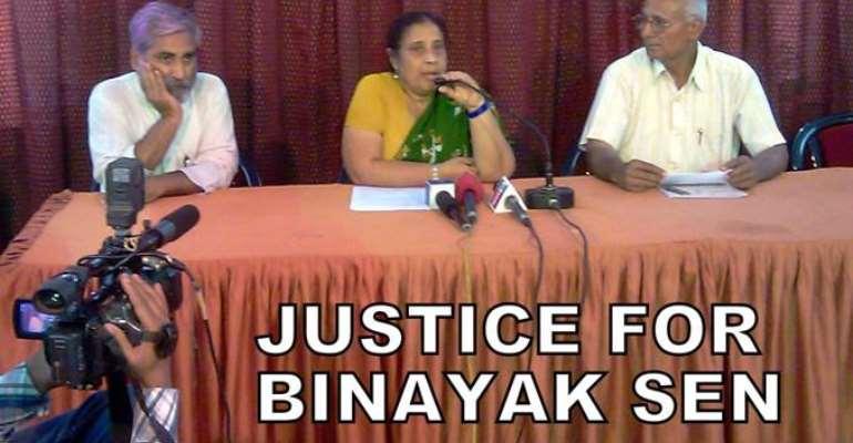 Justice for 'Prisoner of Conscience' Dr Binayak Sen