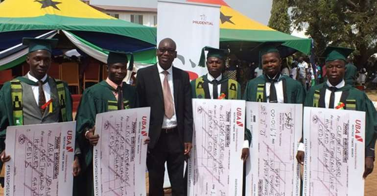Prudential supports outstanding Actuarial Science students at UDS