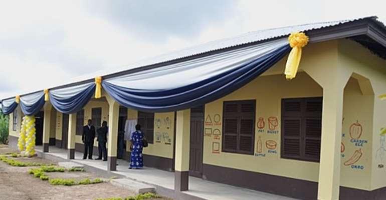 GCB builds school for Fawoman community
