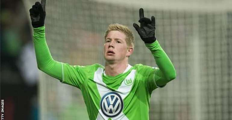 Done deal: Manchester City sign Kevin de Bruyne