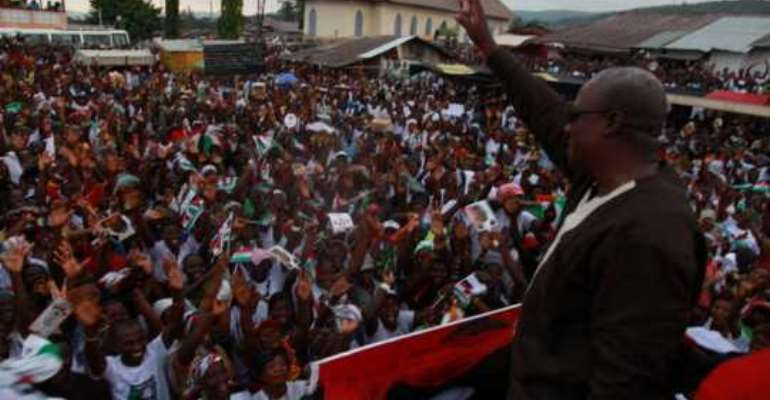I will secure one touch victory - Mahama