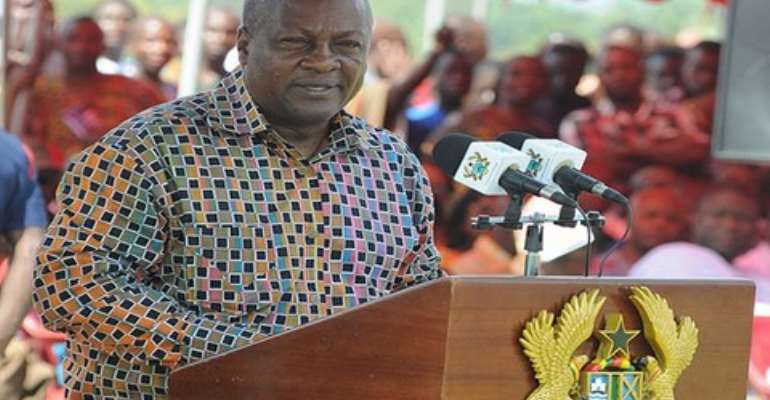 Mahama: I will deal firmly with report of Judgment Debt Commissioner
