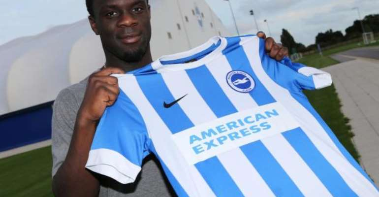 Elvis Manu has joined Brighton and Hove Albion