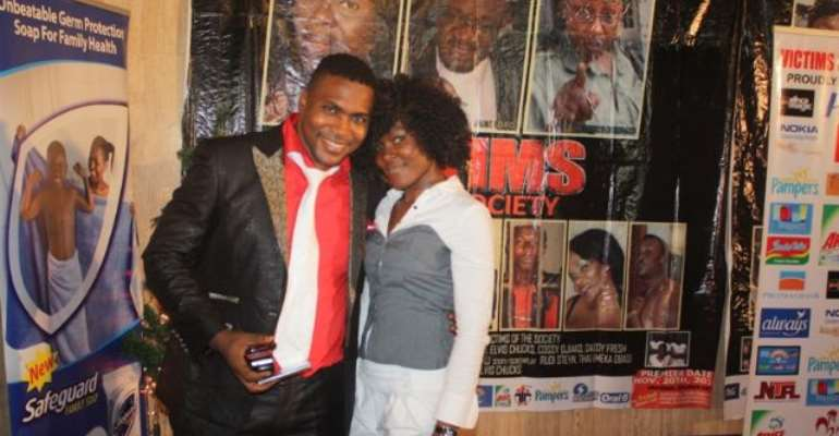 ACTOR ELVIS CHUKS STEPS OUT WITH LOVER