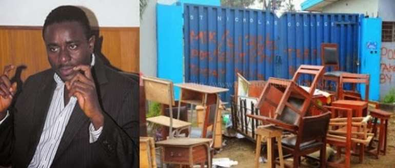 Popular Nollywood Actor Emeka Ike's Properties Taken Over By Court! [PHOTOS]
