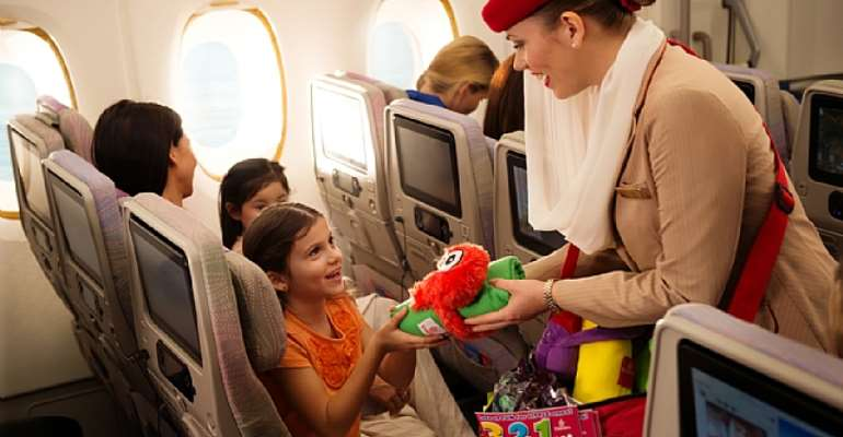 Emirates Demonstrates Family Friendly Commitment By Carrying Over 2 Million Children Last Year