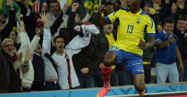 Ecuador's Enner Valencia thrilled with 'dream' performance