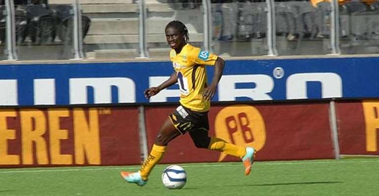 Ernest Asante was on target for IK Start