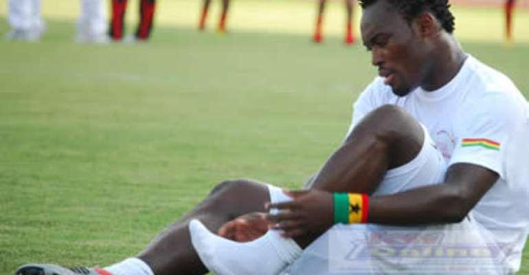 Chelsea and Ghana Michael Essien