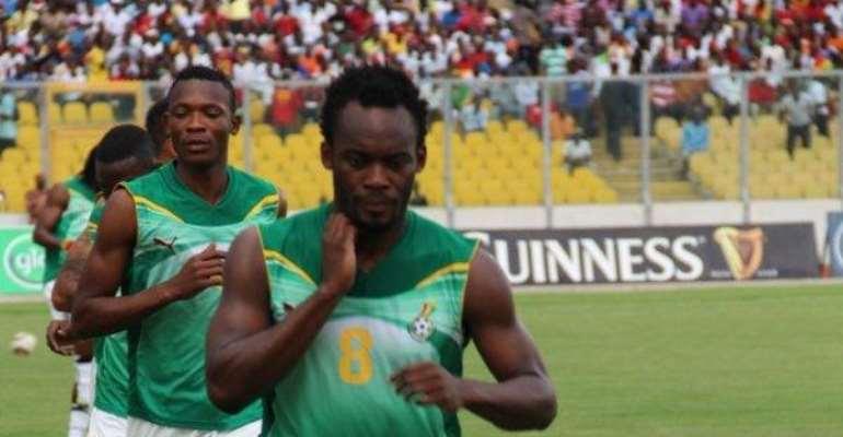 Michael Essien is back for Ghana