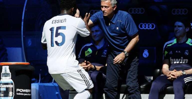 Essien and Mourinho