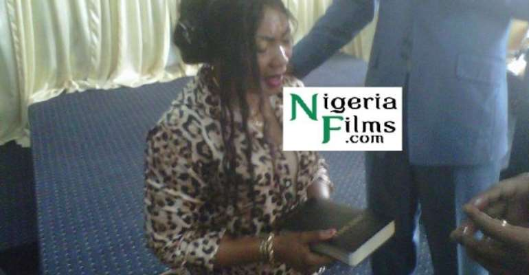 Star Actress, Eucheria Anunobi To Be Officially Ordained Pastor Easter, Anointed In Church By Pastors,