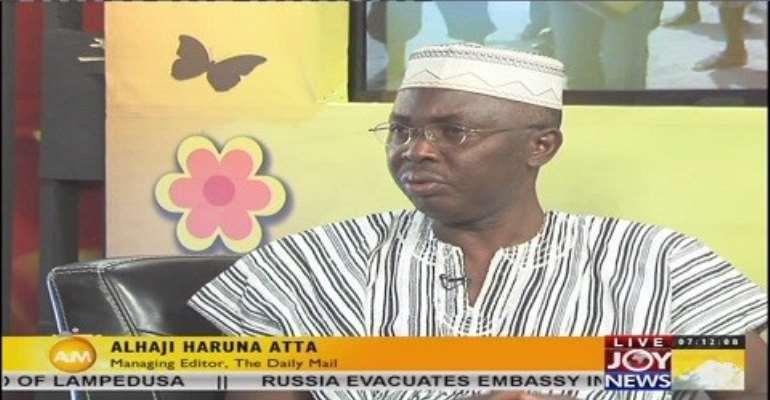 Don't fight corruption by glorifying it - Haruna Atta