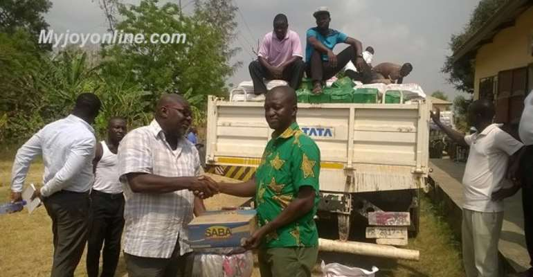 Paebo quarry explosion: NADMO gives more relief items to victims