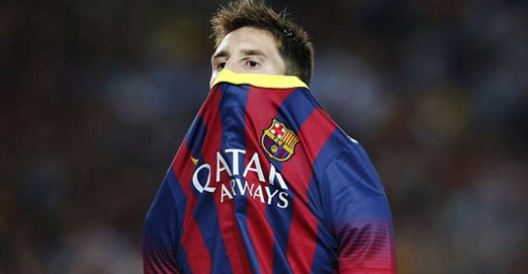 Manchester City players in Messi transfer plea