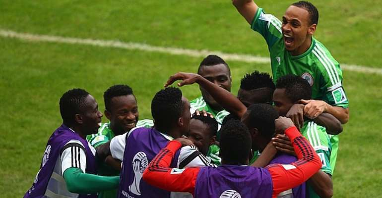 2014 World Cup: Nigeria lose to Argentina but qualify for round 16