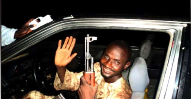 I am living in Paradise - Mohammed Manga, The suicide bomber who bombed Police Headquarters