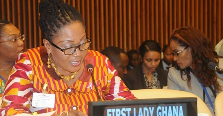 Is Mahama taking a cue to refund his wife's allowances since 2009?