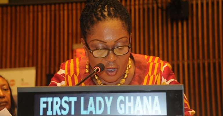 Where Is The Former First Lady, Mrs Lordina Mahama?
