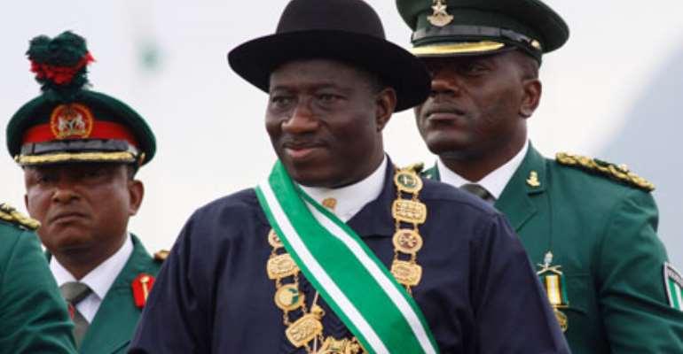 Nigerian President Goodluck Ebele Jonathan