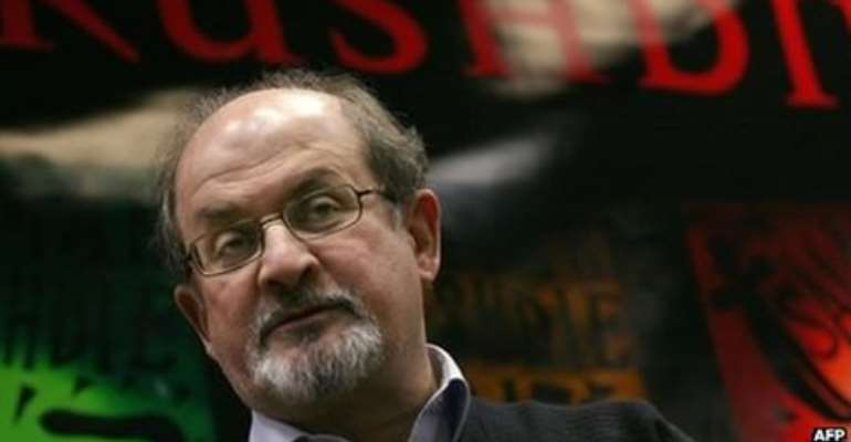 Salman Rushdie said he was outraged and very angry