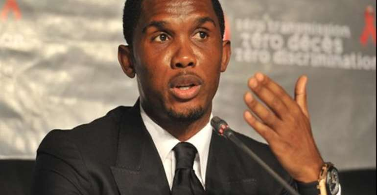 Eto'o, 32, could get a shot in the Premier League
