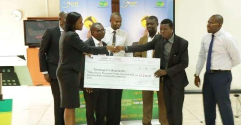 NLA Soccer-Cash records second jackpot winner