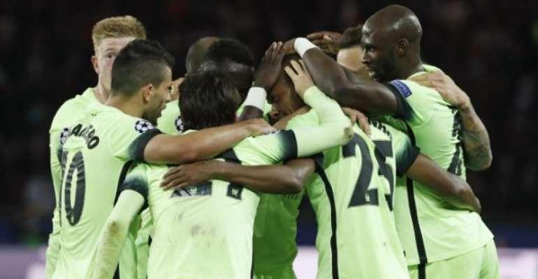Manchester City earn vital score draw in Paris