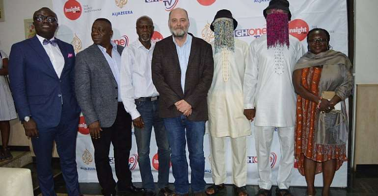Launch of Africa Investigates Documentary Film Series in Ghana