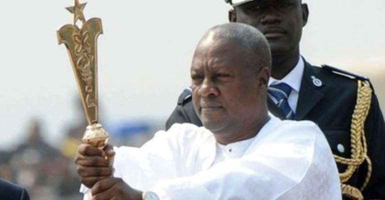 Prez Mahama Flexing Muscles: 'What God Has Blessed No Man Can Curse'