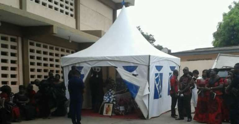 Murdered Fidelity Bank staff, laid to rest