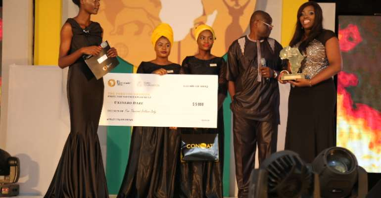 Full list of winners at The Future Awards Africa2015