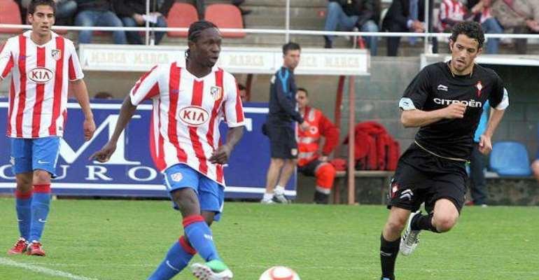 Former Atletico Madrid midfielder Joseph Ato-Bissah denies contract with Berekum Chelsea