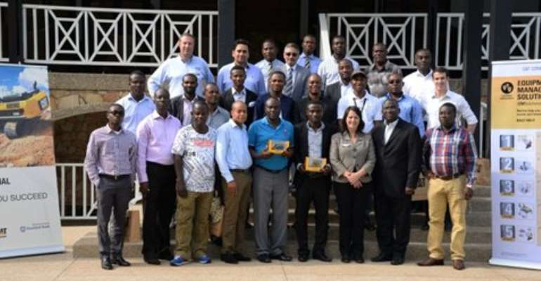 Mantrac holds forum for small and medium-scale miners